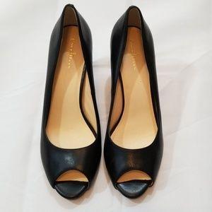 Cole Haan Black Leather Heel